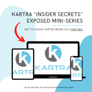 "Kartra trial, review, and my FREE ""Insider Secrets"" Video Training"